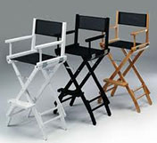 Tall Directors Chair - Prop For Hire