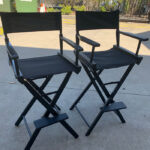 Tall Director's Chairs - Prop For Hire