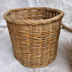 Tall Willow Basket - Prop For Hire