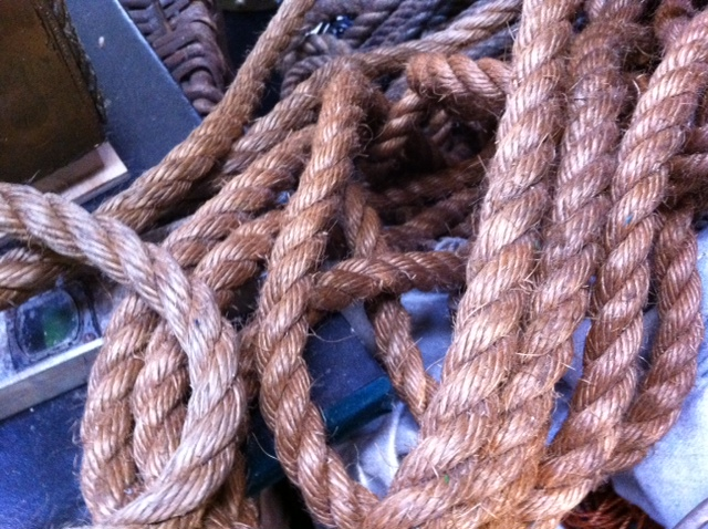 Thick Twine Rope - Prop For Hire