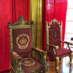 Throne Setting - Prop For Hire