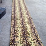 Tiger Carpet Runner - Prop For Hire