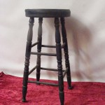 Timber Barstool - Prop For Hire