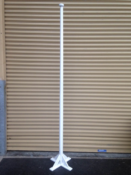 Timber Flagpole - Prop For Hire