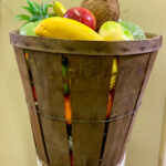 Timber Pale Basket - Prop For Hire