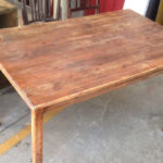 Timber Table - Prop For Hire