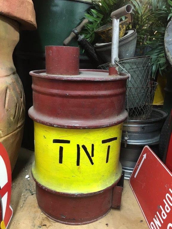 TNT Plunger - Prop For Hire