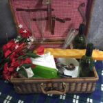 Traditional Picnic Basket - Prop For Hire