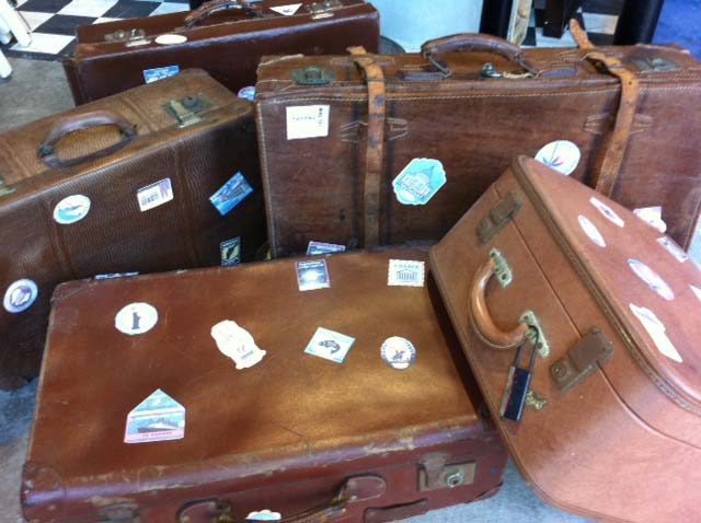 Travel Suitcases 1 - Prop For Hire