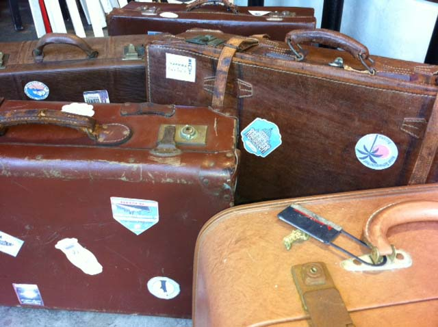 Travel Suitcases 2 - Prop For Hire