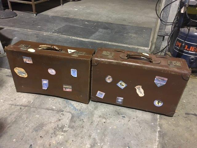 Travel Suitcases 3 - Prop For Hire