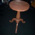 Tri Leg Table - Prop For Hire