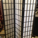 Trifold Paper  Screens - Prop For Hire