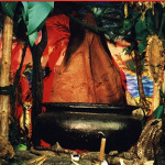 Tropical Cookpot Scene - Prop For Hire