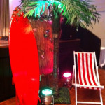 Tropical  Surf Deckchair - Prop For Hire