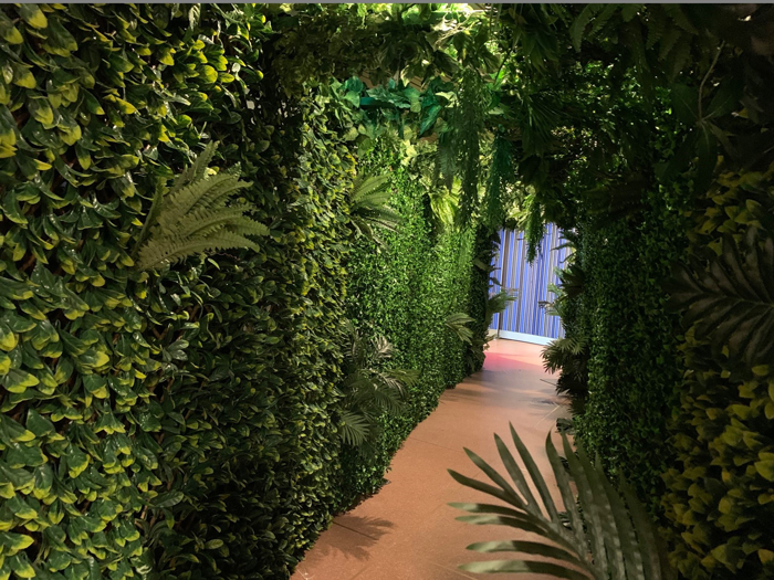 Tropical Tunnel Walls - Prop For Hire
