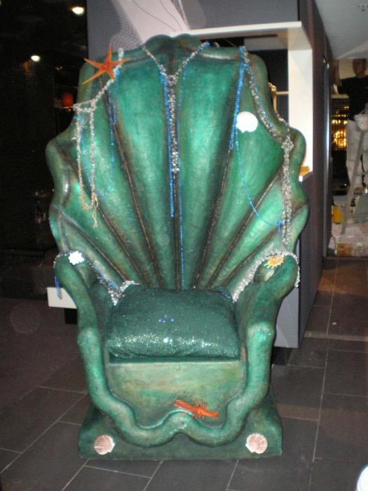 Underwater Throne - Prop For Hire