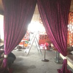 Velvet Drape Entrance - Prop For Hire