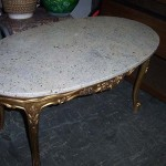 Victorian Marble Table - Prop For Hire