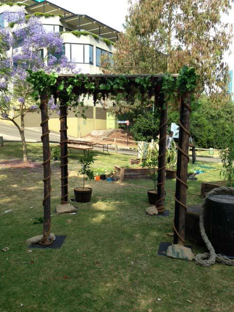 Vineyard Entrance - Prop For Hire