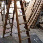 Vintage A-Frame Ladder - Prop For Hire