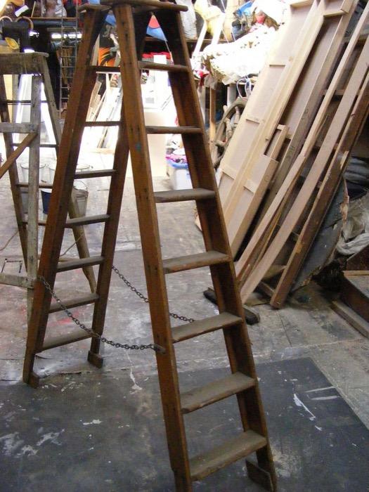 Vintage A-Frame Ladder - Prop For Hire