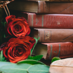 Vintage Books and Roses - Prop For Hire