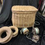 Vintage Creel Fishing Basket - Prop For Hire