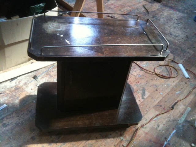 Vintage Drinks Trolley - Prop For Hire