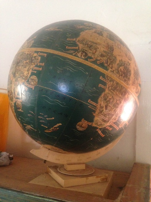 Vintage Globe 2 - Prop For Hire