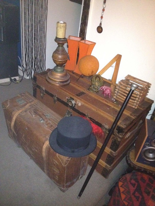 Vintage Luggage - Prop For Hire