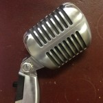 Vintage Microphone - Prop For Hire