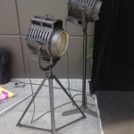Vintage Movie Lights - Prop For Hire
