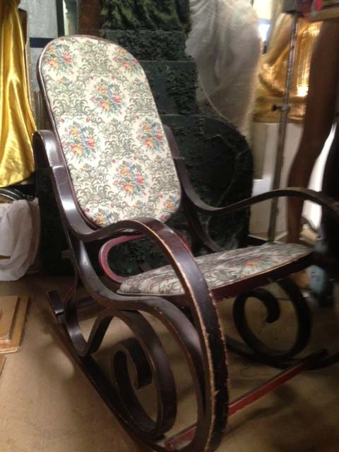 Vintage Rocking Chair - Prop For Hire
