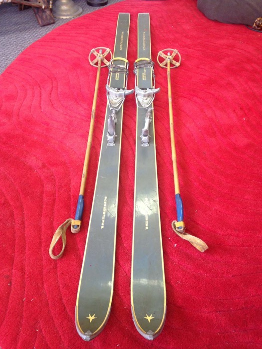 Vintage Snow Skis - Prop For Hire