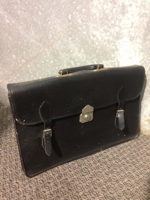 Vintage Soft Briefcase - Prop For Hire