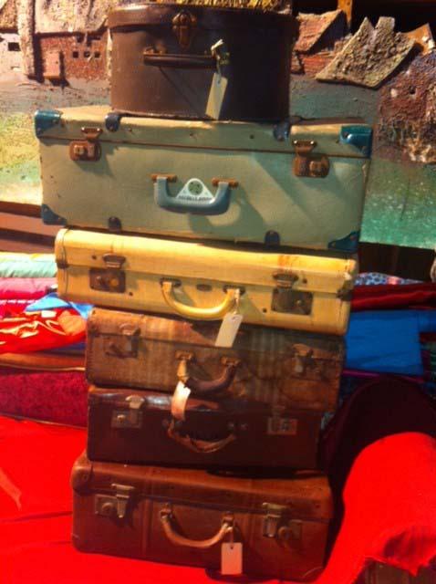 Vintage Suitcases 1 - Prop For Hire