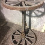 Wagon Axle And Wheels - Prop For Hire