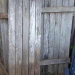 Weathered Garden Fence - Prop For Hire
