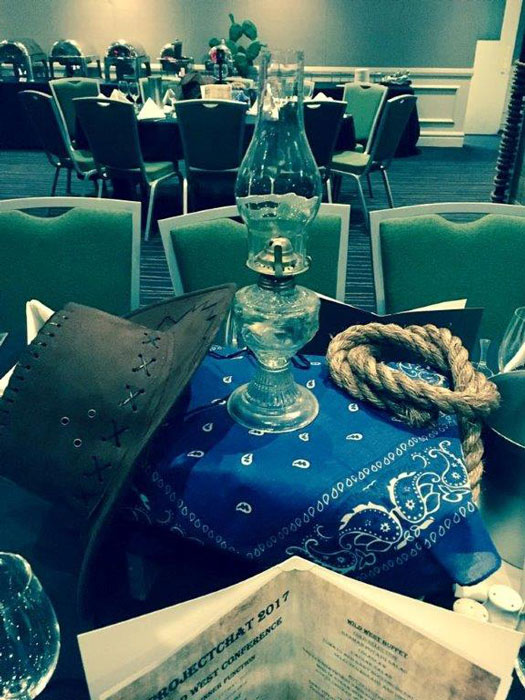 Western Table Centre - Prop For Hire