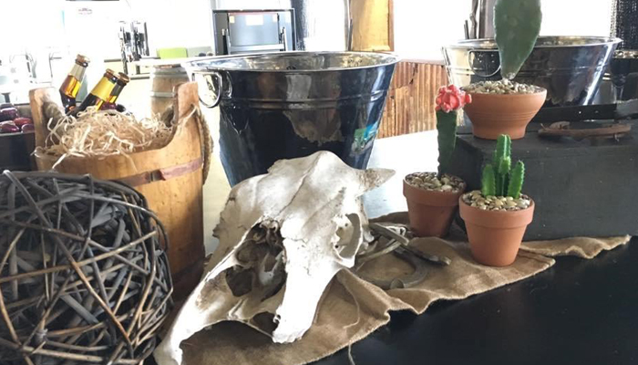 Western Table Style - Prop For Hire