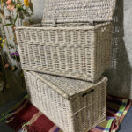 White Baskets - Prop For Hire