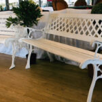 White Bench 1 - Prop For Hire