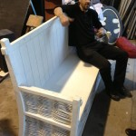 White Bench 2 - Prop For Hire
