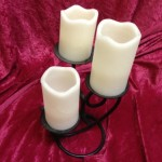 White Candles - Prop For Hire