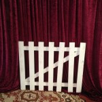 White Garden Gate - Prop For Hire
