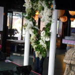 White Ornate Columns - Prop For Hire