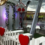 Picket Heart Fence - Prop For Hire