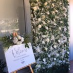 White Roses Babyshower Backdrop - Prop For Hire