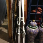 White Snow Skis - Prop For Hire